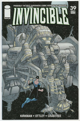 Invincible 39 Image 2007 NM+ 9.6 Robert Kirkman Ryan Ottley