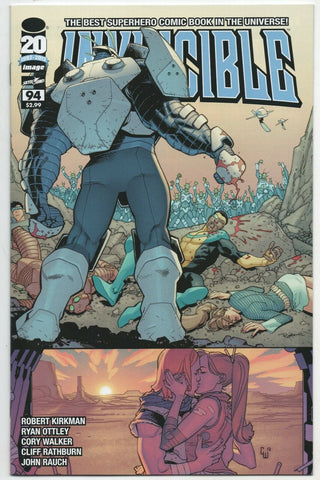 Invincible 93 Image 2012 NM Robert Kirkman Ryan Ottley