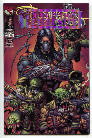 Darkness 33 B Image 2000 FN VF Foil SDCC Convention Exclusive Variant