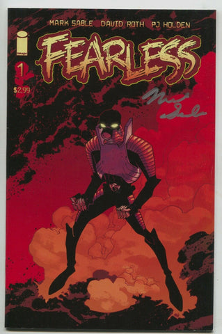 Fearless 1 Image 2007 VF Signed Mark Sable