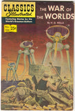 Classics Illustrated 124 The War Of The Worlds 1970 FN 11th Print HG Wells