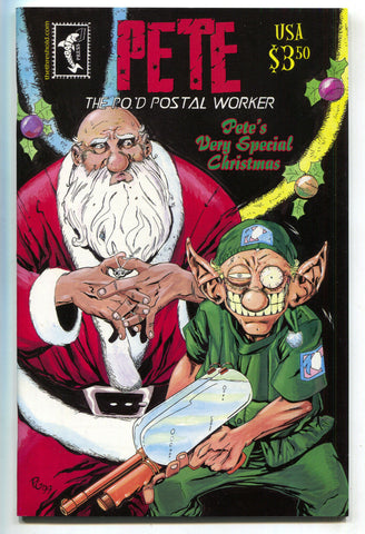 Pete P.O.'D Postal Worker Very Christmas Special 1 Shark Bait 1997 NM