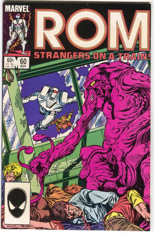 ROM Spaceknight 60 Marvel 1984 VF Steve Ditko