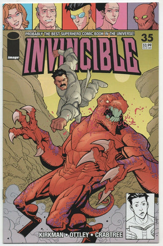 Invincible 35 Image 2006 NM+ 9.6 Robert Kirkman Ryan Ottley