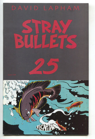 Stray Bullets 25 El Capitan 2002 VF David Lapham