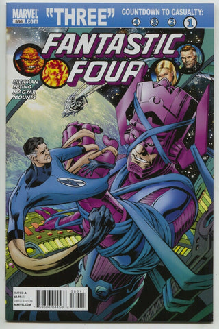 Fantastic Four 586 A Marvel 2011 NM Alan Davis Jonathan Hickman