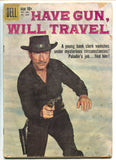 Four Color 1044 Dell 1959 GD Have Gun Will Travel Photo Paladin Richard Boone
