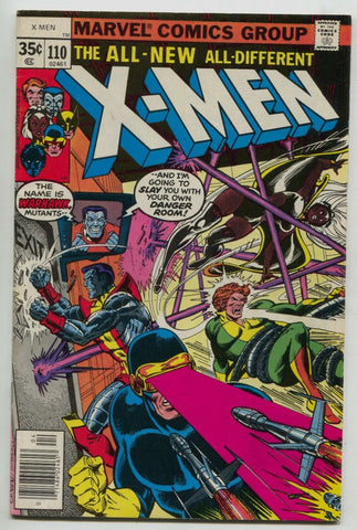 Uncanny X-Men 110 Marvel 1978 VG FN Wolverine Colossus Cyclops Storm Nightcrawle