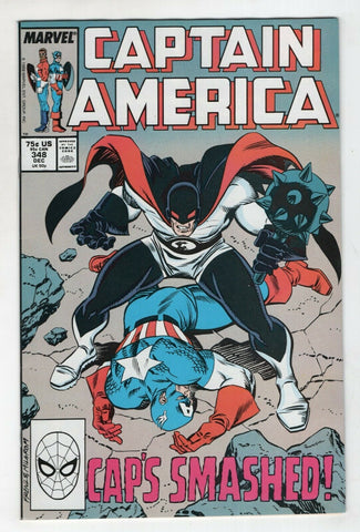 Captain America 348 Marvel 1988 NM Ron Frenz Flag Smasher