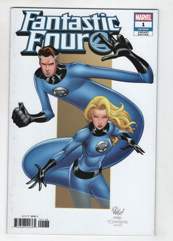 Fantastic Four 1 6th Series Marvel 2018 NM- Mike Wieringo Variant