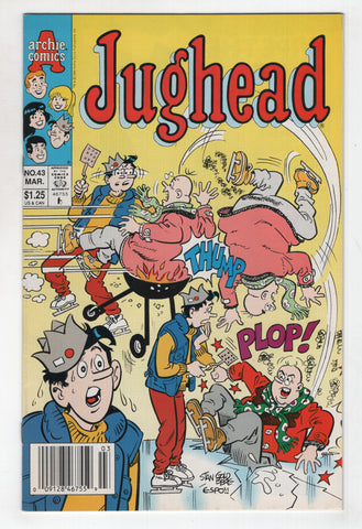 Jughead 43 2nd Series Archie 1993 NM- Ice Skating Stan Goldberg