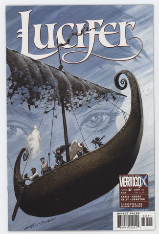 Lucifer 37 DC Vertigo 2003 NM Sandman Mike Carey