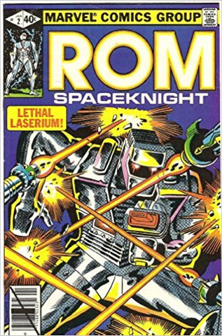 Rom Spaceknight 2 Marvel 1979