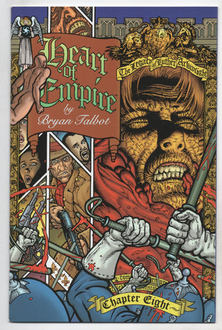 Heart Of Empire Legacy Of Luther Arkwright 8 Dark Horse 1999 NM Bryan Talbot
