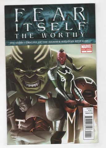 Fear Itself The Worthy 1 Marvel 2011 NM- Marko Djurdjevic