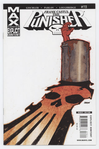 Punisher 73 7th Series Marvel MAX 2009 NM Dave Johnson