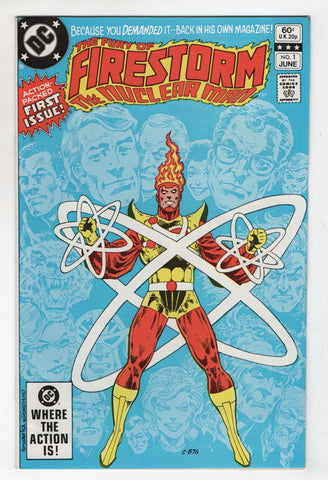 Firestorm 1 2nd Series DC 1982 FN VF Gerry Conway