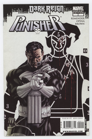 Punisher 2 B 8th Series Marvel 2009 NM Mike McKone 1 Homage Variant Dark Reign