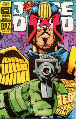 Judge Dredd 7 Quality Comics 1986 2000AD