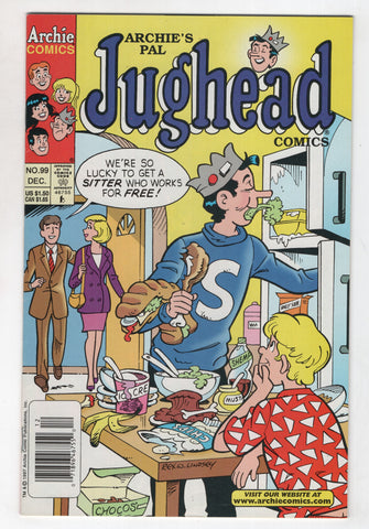 Jughead 99 2nd Series Archie 1997 NM- Newsstand