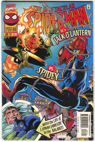 Spectacular Spider-Man 247 Marvel 1997 NM Jack O Lantern