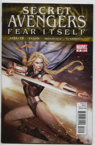 Secret Avengers 14 A 1st Series Marvel 2011 NM Adi Granov Valkyrie Fear Itself