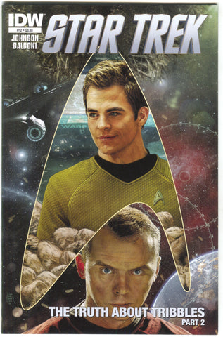Star Trek 12 A IDW 2012 NM- Tim Bradstreet