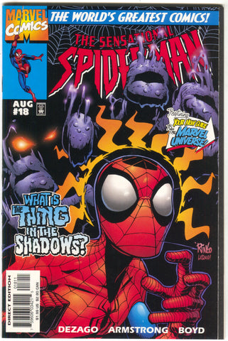 Sensational Spider-Man 18 Marvel 1997 NM Prowler Vulture