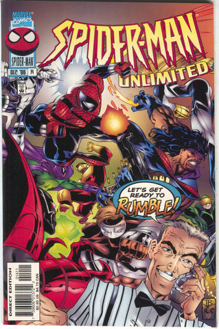 Spider-Man Unlimited 14 1st Series Marvel 1996 NM Nightwatch Cardiac Prowler
