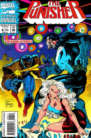 Punisher Annual 6 Marvel 1993