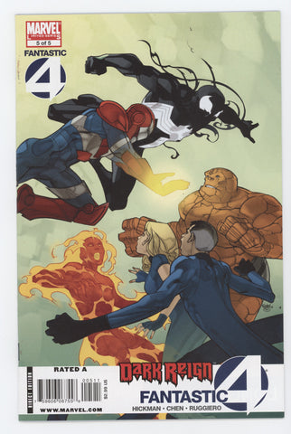 Dark Reign Fantastic Four #5 (Of 5) Marvel 2009 PASQUAL FERRY JONATHAN HICKMAN
