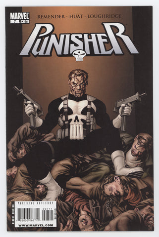 Punisher 7 8th Series Marvel 2009 NM Mike McKone Rick Remender