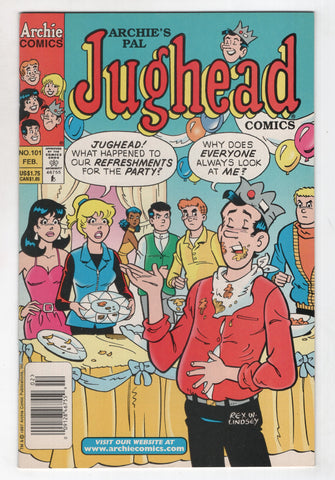 Jughead 101 2nd Series Archie 1998 NM- Betty Veronica Newsstand