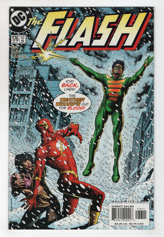 Flash 176 2nd Series DC 2001 NM Geoff Johns Brian Bolland Weather Wizard
