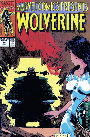 Marvel Comics Presents 88 1990 Wolverine Volcana
