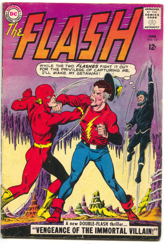 Flash 137 1st Series DC 1963 FN 1st Vandal Savage Legends Of Tomorrow Arrow
