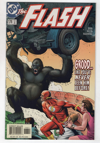 Flash 178 2nd Series DC 2001 NM Geoff Johns Brian Bolland Gorilla Grodd