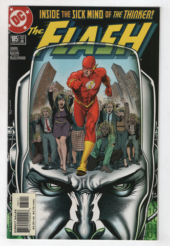 Flash 185 2nd Series DC 2002 NM Geoff Johns Brian Bolland