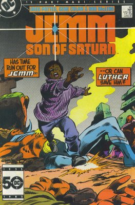 Jemm Son of Saturn 10 DC 1985 Mini Series