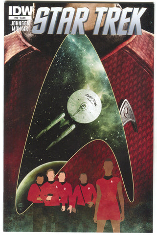 Star Trek 13 A IDW 2012 NM Tim Bradstreet