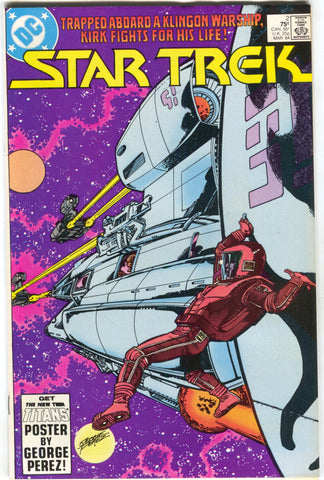 Star Trek 2 1st Series DC 1984 VF George Perez