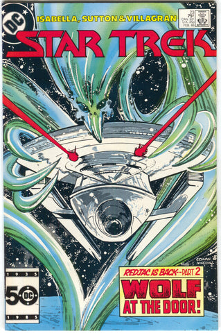 Star Trek 23 1st Series DC 1986 NM Denys Cowan