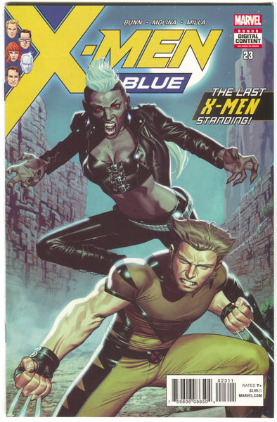 X-MEN BLUE #23 Marvel Legacy Jorge Molina (03/14/2018)
