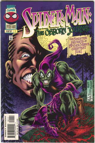 Spider-Man Osborn Journal 1 Marvel 1997 NM Green Goblin Kyle Hotz
