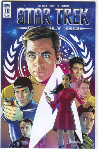 Star Trek Boldly Go 10 B IDW 2017 NM Jason Badower