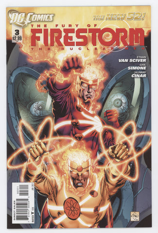 Fury Of Firestorm The Nuclear Men #3 DC 2012 ETHAN VAN SCIVER GAIL SIMONE New 52