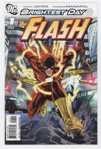 Flash #1 A 3rd Series DC 2010 Francis Manapul GeoFF Johns Brightest Day