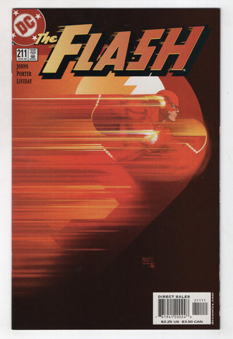 Flash 211 2nd Series DC 2004 NM Geoff Johns Michael Turner
