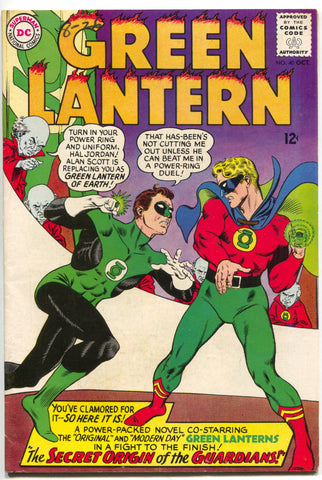 Green Lantern 40 1st Series DC 1965 FN VF 1st Golden Age Alan Scott Gil Kane