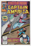 Captain America 373 Marvel 1990 NM Bullseye Black Widow Streets Of Poison